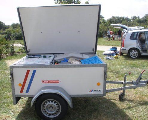 bagagewagen met neuswiel